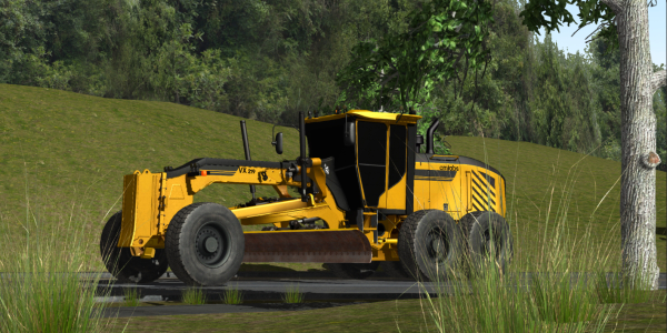 The update for the Motor Grader Training Pack implements new earthmoving technology that allows...