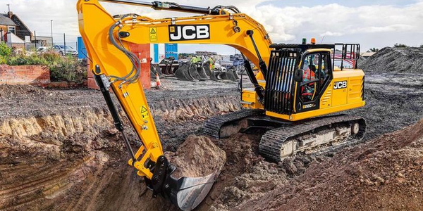 The JCB 220X tracked excavator features central main boom mounting for increased durability and...