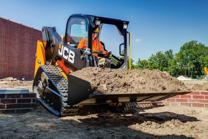 The 210T and the 215T are powered by the 74-hp JCB Diesel by Kohler engine.  - Photo courtesy of JCB