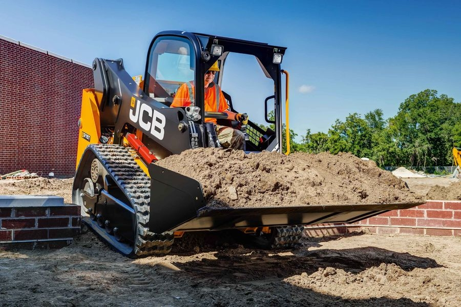 JCB Offers Small-Platform Compact Track Loaders