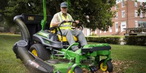 John Deere Introduces Three-Bag Material Collection System