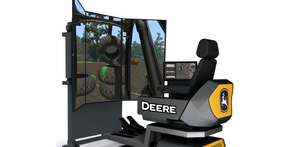 John Deere Updates Construction Simulators