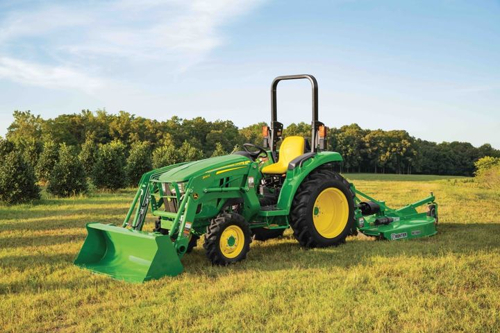 One of the most notable features on the 3D Series is the gear-driven transmission.  - Photo courtesy of John Deere