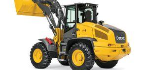 High-Lift Option Available on John Deere 344L Compact Wheel Loader