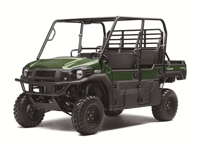 The Mule Pro-DXT features can seat up to six passengers.