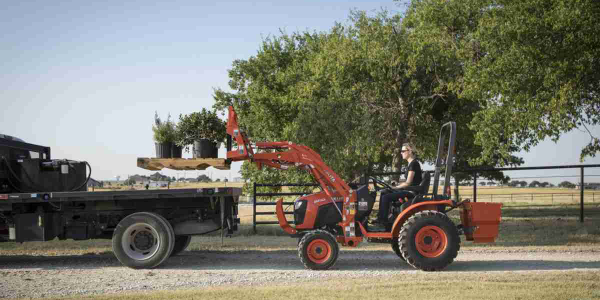 Kubota Introduces B01 Series of Compact Tractors