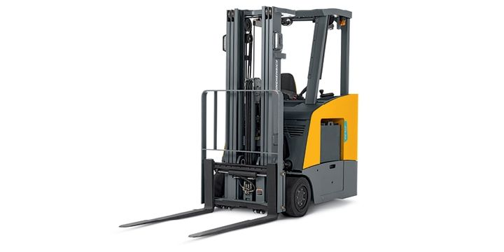 The Jungehinrich ETG 214-318 Lift Truck can run up to two shifts on one battery charge.