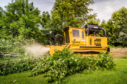The Rayco C275 Forestry Mulcher delivers 275 hp in a compact, low-ground-pressure package.