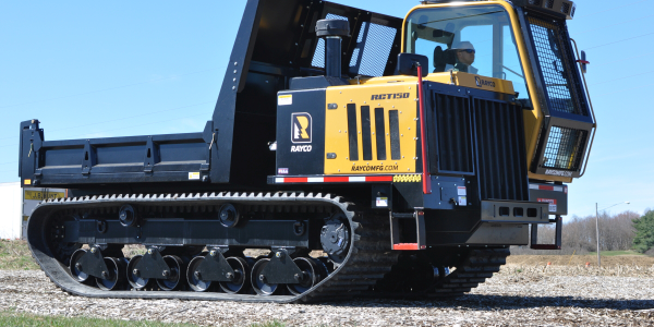 The RCT150 Crawler Truck comes with a 10-foot x 7.8-foot dump bed with removable sides or as a...