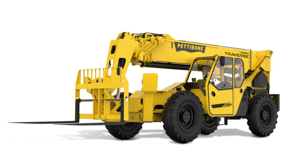 Pettibone Introduces Traverse T1258X Telehandler