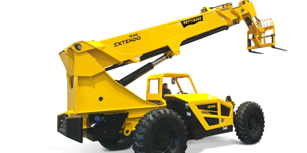 The 1246X offers a maximum lift height of 46 feet, 6 inches.