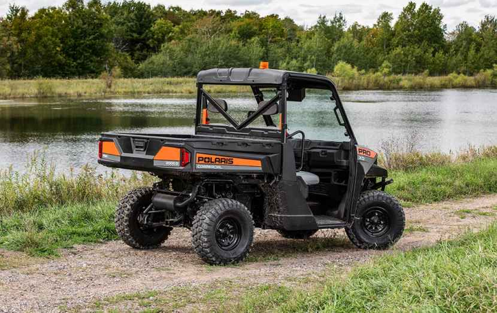 The two-passenger PRO XD 2000D is available in either two-wheel drive or all-wheel drive.