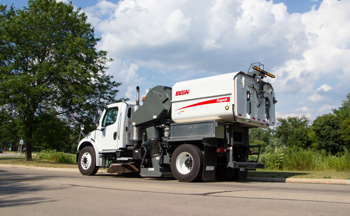 Elgin Sweeper Introduces RegenX Regenerative Air Sweeper