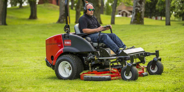 The Groundsmaster 360 features a 36.8-hp Yanmar 3-cylinder liquid-cooled diesel engine and is...