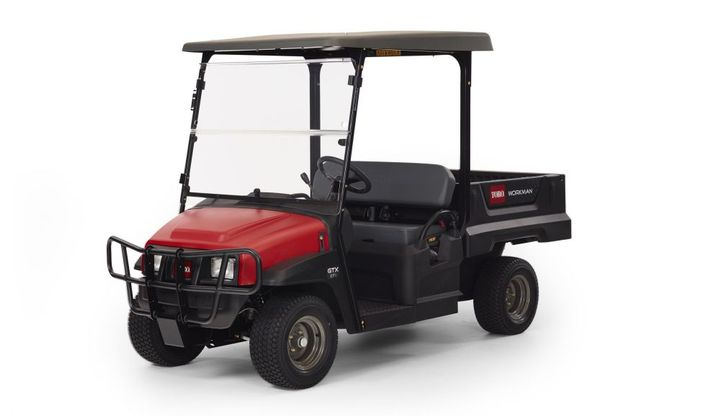 The Toro WorkmanGTX line now includesnew electronic fuel injection (EFI) models.  - Photo courtesy of Toro
