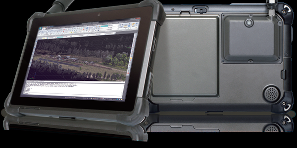DT301T Tablet Utilizes Mapping Technology
