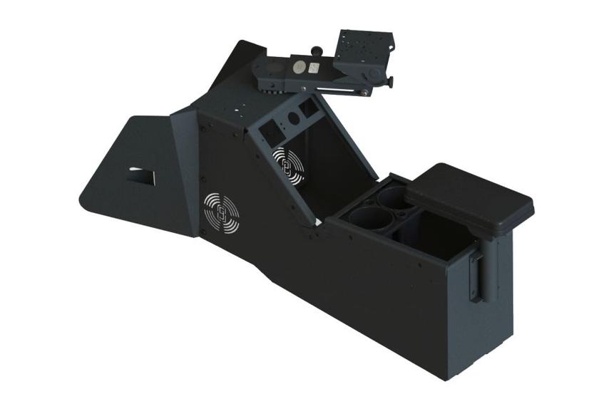 Gamber-Johnson Console Box Designed for 2020 Ford PIU