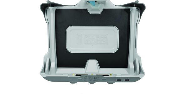 The K120 tablet docking station is compatible with the Detac K120 computer.