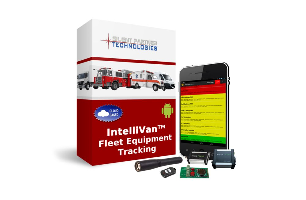The IntelliVan system keeps track of every single piece of equipment inside of a service vehicle.