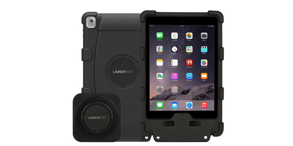 The LaunchPort Rugged System offers protection and wireless charging for iPads.
