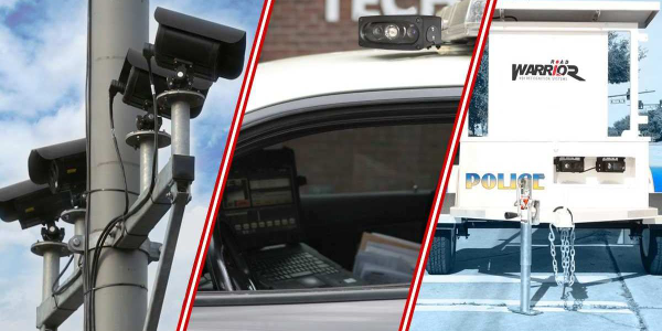 VeriPlate automatic license plate readers can be mounted on a mixed location, a portable...