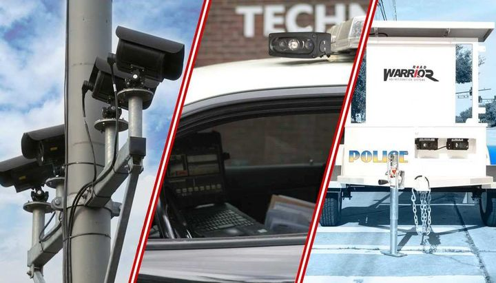 VeriPlate automatic license plate readers can be mounted on a mixed location, a portable trailer, or a moving vehicle.