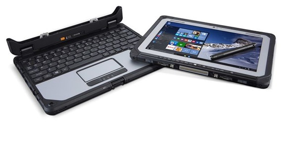 The Panasonic Toughbook 20 has a sunlight-viewable display.