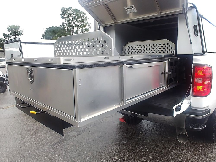 Agencies can install the Maxx Slide system with any drawer application into a van, pickup truck, or SUV for maximized storage space.