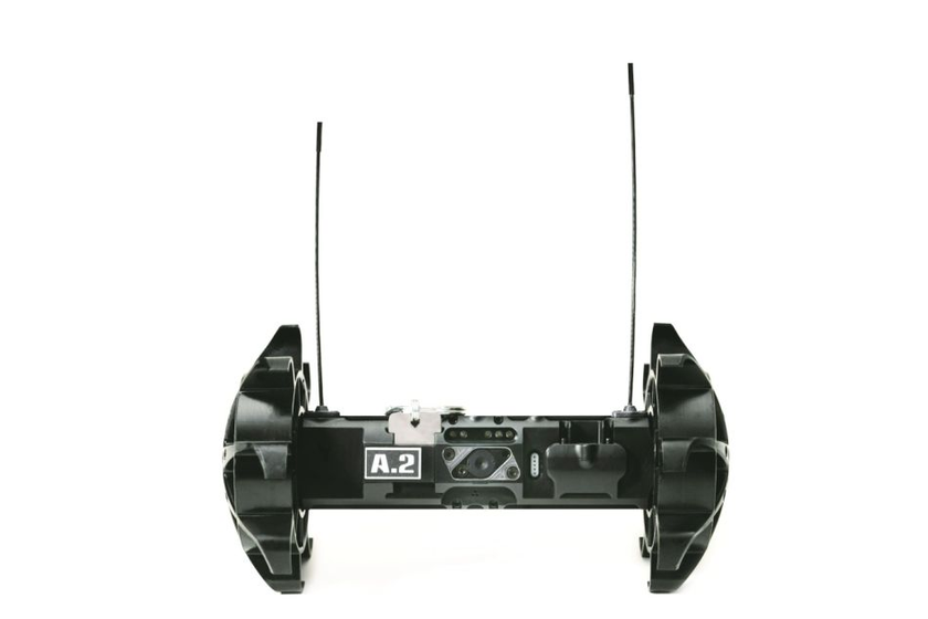 The Throwbot allows officers to perform video and audio reconnaisance.