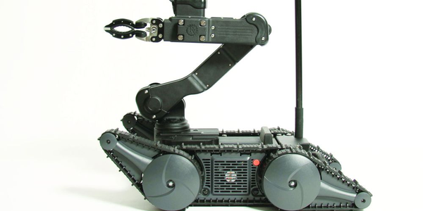 The remote-controlled robot can enhance the capabilities of tactical response teams.