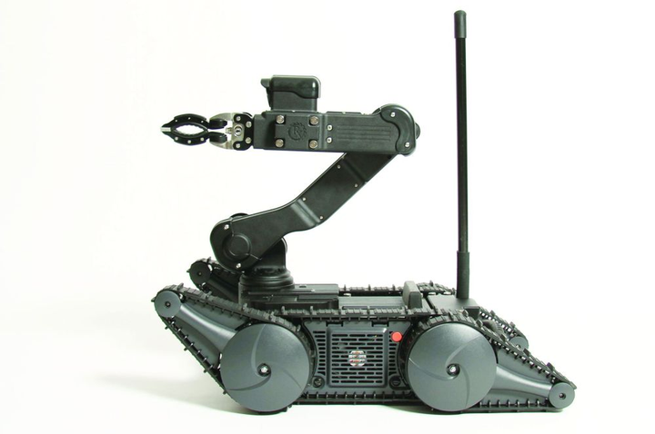 The remote-controlled robot can enhance the capabilities of tactical response teams.  - Photo courtesy of Robotex
