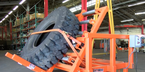 LiftWise Tilt Table Positions Tires