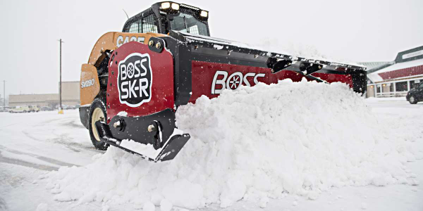 Boss Snowplow Releases New Compact Equipment Plow