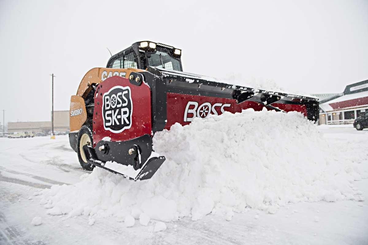 Boss Snowplow Releases New Compact Equipment Plow