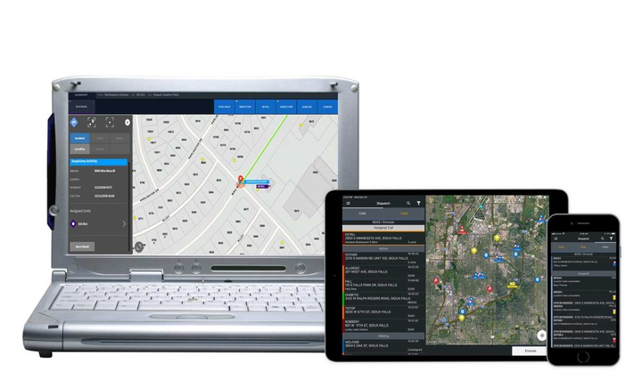 FieldOps allows officers to stay connected, regardless of whether they're in a patrol car.