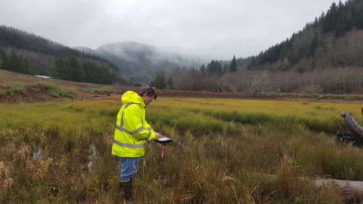 DT Research tablets are used in the Oregon Department of Transportation's construction management offices, as well as biology, geology, roadway, and wetland projects.  - Photo courtesy of DT Research