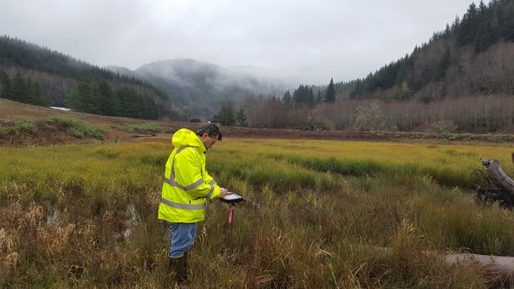 DT Research tablets are used in the Oregon Department of Transportation's construction management offices, as well as biology, geology, roadway, and wetland projects.