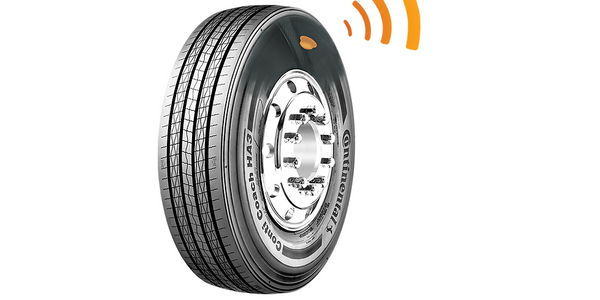 By embedding tire pressure monitoring sensors into its tires, Continental hopes to reduce the...