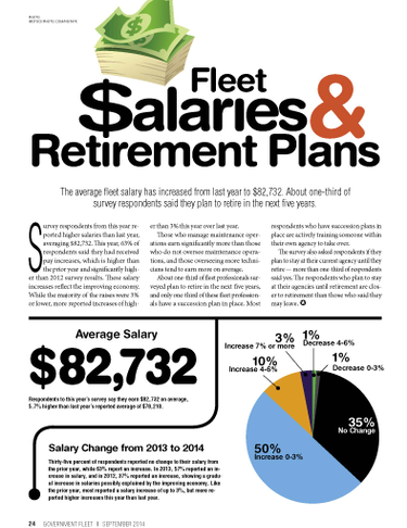 2014 Salaries and Retirement Plans