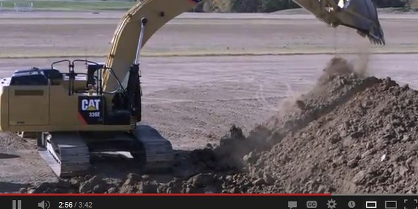 Caterpillar: Take A Walk Around the 336E H Hybrid Excavator