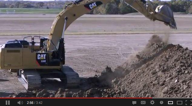 Caterpillar: Take A Walk Around the 336E H Hybrid Excavator