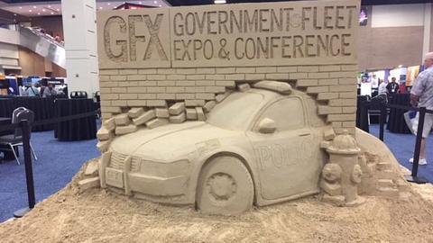 Time Lapse: Sand Sculpture at GFX 2017