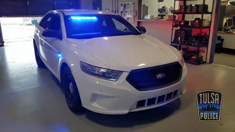 The Tulsa Police Department's Unmarked Police Car