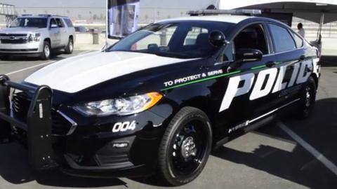 2019 Ford Police Responder Hybrid Sedan