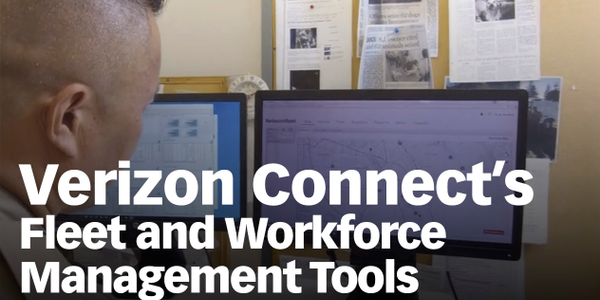 Verizon Connect's Fleet and Workforce Management Tools [Video]