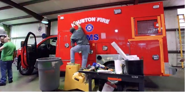 Watch How Houston's Custom Emergency Vehicle Is Made