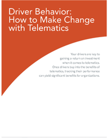 Driver Behavior: How to Make Change with Telematics