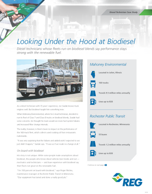 Diesel Techs Weigh in on Biodiesel