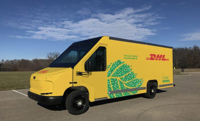 DHL Adds Electric Delivery Vans to U.S. Fleet