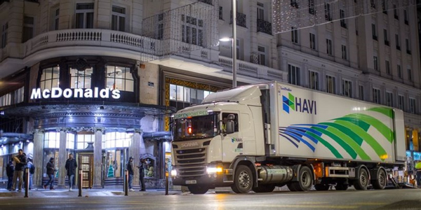 HAVI Spain, the fast-food restaurant's logistics provider, plans to add 12 vehicles that run on...